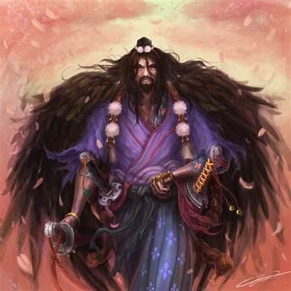L5r Unicorn Clan Tengu Samurai Deviantart Warrior