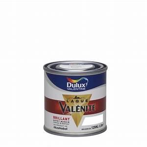 peinture dulux valentine laque valenite brillant blanc With peinture blanc laque brillant