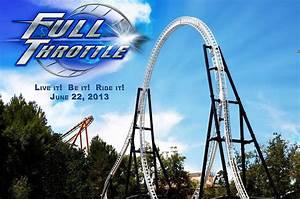Full Throttle Roller Coaster