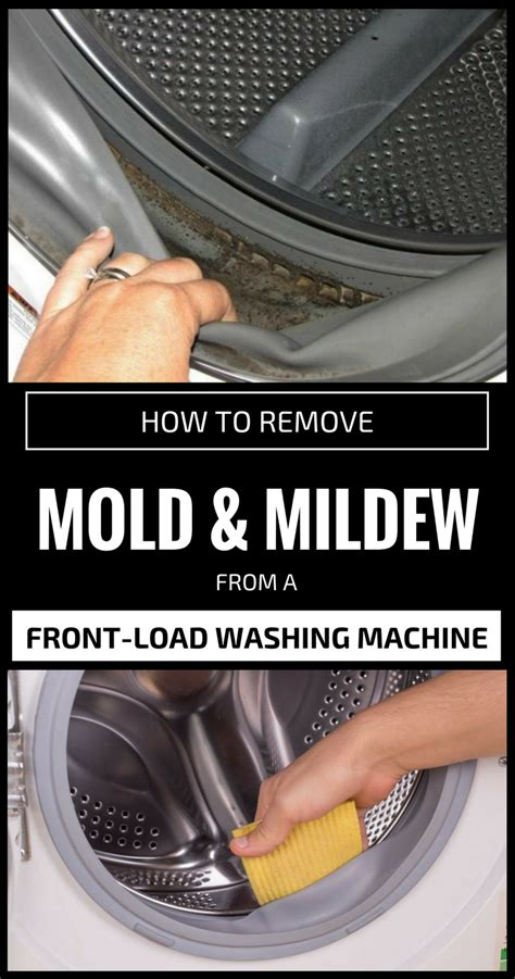 remove mold  mildew   front load washing