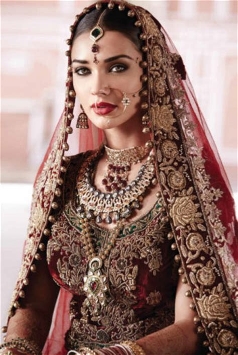tanishq bridal collection   north indian bride