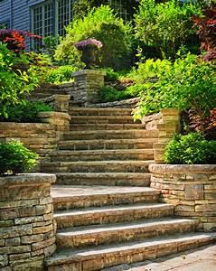 Treppe Bauen Garten : au entreppe f r den garten bauen anleitung in 3 schritten ~ Lizthompson.info Haus und Dekorationen
