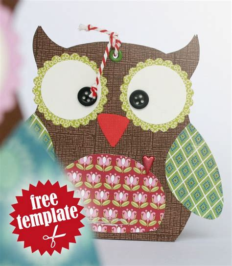 Owl Pillow Box Template by 5 Best Images Of Printable Template Owl Box Free