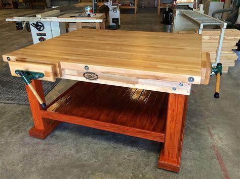 garage work bench workbenches wooden garage workbenches made in u s a