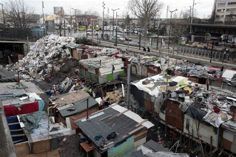 riot evict 2 500 migrants from shantytown world news express co uk