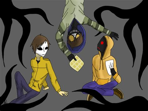 Operator's Proxies (masky, Ticci-toby, Hoodie) By
