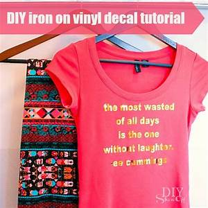 diy vinyl iron on decaldiy show off tm diy decorating and With diy vinyl lettering for shirts