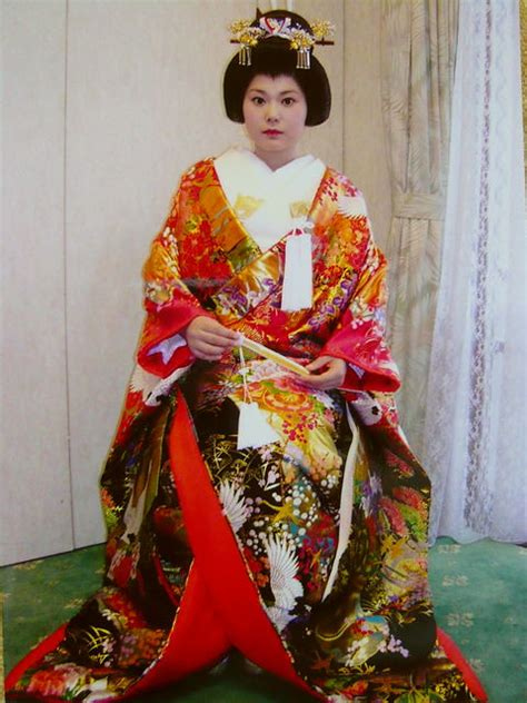 traditional japanese wedding kimono hair flickr