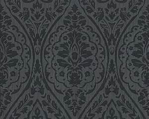 Tapete Barock Schwarz : tapete vlies barock schwarz grau tessuto 96195 9 ~ Yasmunasinghe.com Haus und Dekorationen