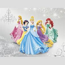 Disney Princess  Wall Mural & Photo Wallpaper Photowall