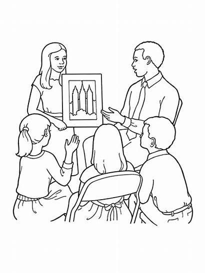 Primary Lds Class Children Teachers Library Church