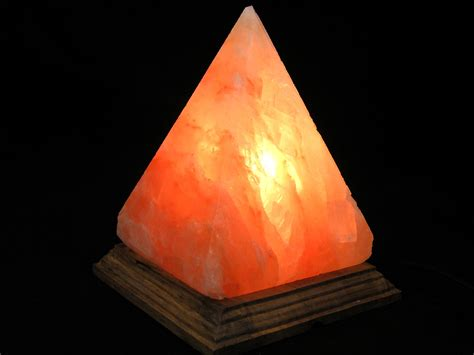 himalayan salt l pyramid large pyramid 6 quot himalayan salt l with dimmer no