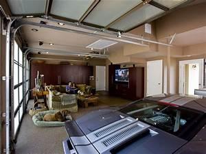 Entertainer's Dream Garage - Modern - Garage And Shed