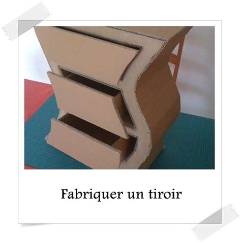 fabriquer  tiroir lpb carton