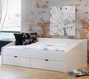 Tagesbett Ausziehbar Doppelbett : sch nes einzelbett aus buche in 90x200 cm bett d nemark ~ Indierocktalk.com Haus und Dekorationen