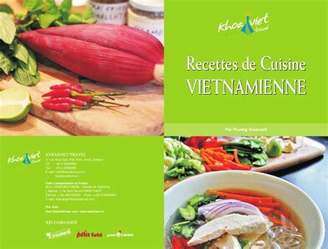 cours cuisine vietnamienne recettes de cuisine vietnamienne