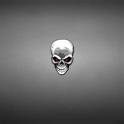 Skull Head Minimalism Gray Wallpapertag