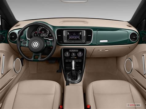 vw bug interior 2017 volkswagen beetle interior u s news world report