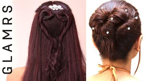 heart bun infinity bun hairstyle glamrs hairstyles