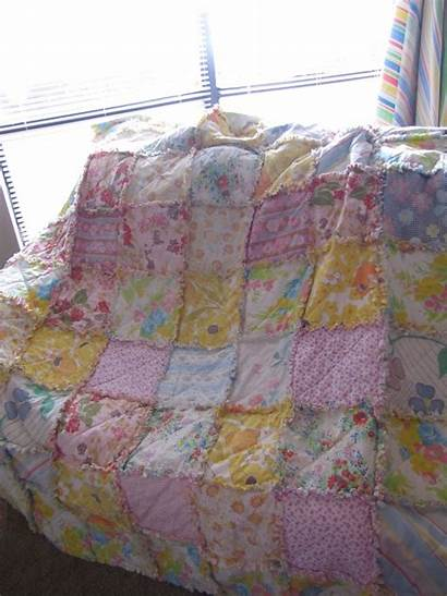 Quilt Rag Sheet Quilts Projects Easy Making