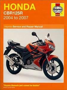 Honda Cbr125r Repair Manual 2004