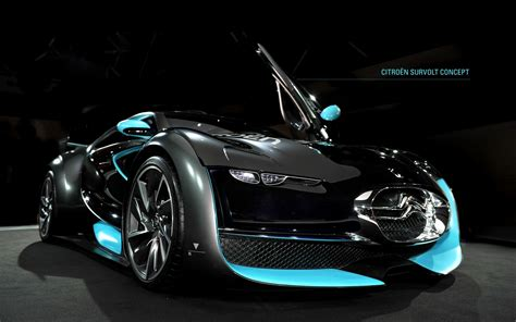 Cars Citroen Supercars Concept Cars Survolt