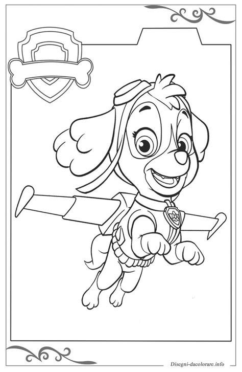 disegni da colorare paw patrol paw patrol immagini da colorare per bambini gratis