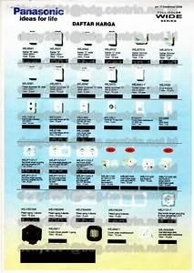 Jual Saklar Dan Stopkontak Panasonic Wide Standart  Silver