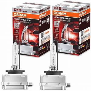 Osram Xenarc Night Breaker : 2x osram night breaker unlimited xenarc d1s 35w pk32d 2 ~ Kayakingforconservation.com Haus und Dekorationen