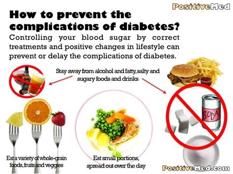 prevent  complications  diabetes positivemed