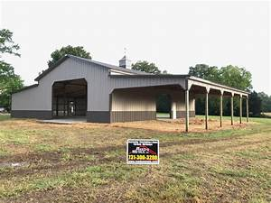 galleries example buildings and roofing reed39s metals With 40x60x16 pole barn