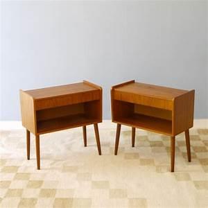 Table De Chevet Scandinave Ikea : table chevets vintage deco scandinave la maison retro ~ Teatrodelosmanantiales.com Idées de Décoration