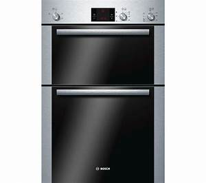 Bosch Waschtrockner Serie 6 : buy bosch serie 6 hbm13b251b electric double oven brushed steel free delivery currys ~ Frokenaadalensverden.com Haus und Dekorationen
