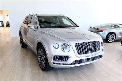 2018 Bentley Bentayga W12 Activity Stock # 8n017999 For