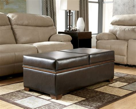 Blue Leather Ottoman Coffee Table by Furniture Oversized Ottoman Coffee Table For Stylish