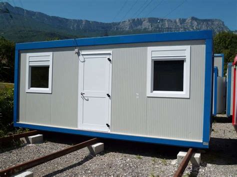 bungalow bureau de vente location bungalow 4 m x 3 m grenoble