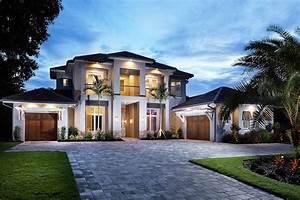 Spacious, Florida, House, Plan, With, Rec, Room, -, 86012bw