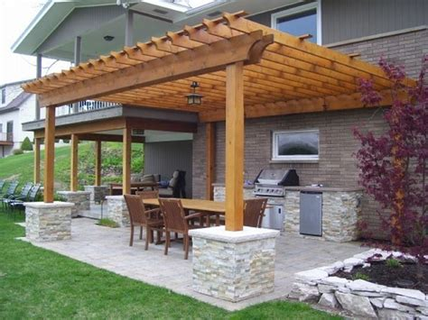 Bbq Party Is On The Way! Design Your Pergola Accordingly