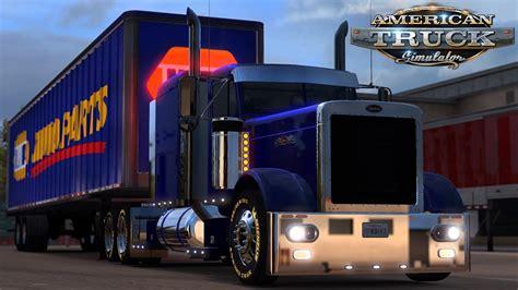 american truck simulator peterbilt  napa auto parts