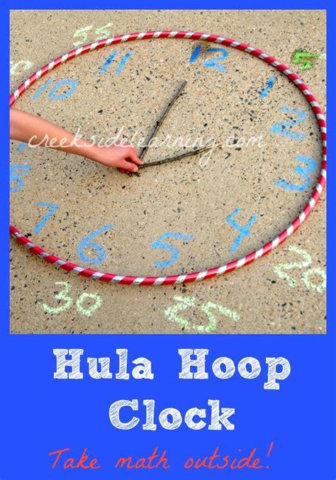 hula hoop activities for preschoolers telling time activities make a hula hoop clock 530