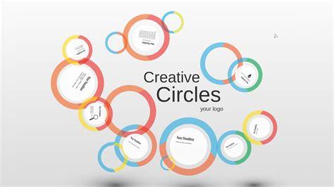 Creative circles Prezi template Prezi Template | Prezibase