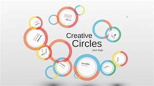 creative circles prezi presentation creatoz collection With presi templates