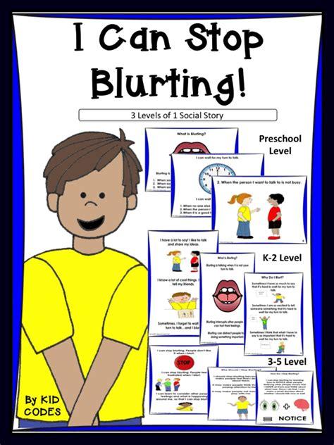 social story bundle i can stop blurting 1 for pre k 1 975 | 274797f0e61a9b0ec361b1cc56d4e65e