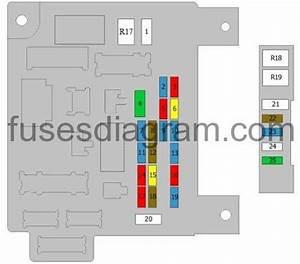 Fuse Box Diagram Mitsubishi Asx