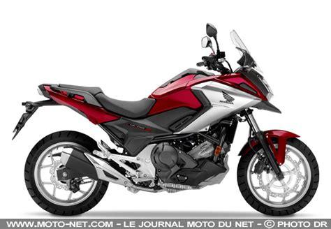 moto a2 2018 nouveaut 233 s les honda nc750s nc750x et integra 2018 sont accessibles aux permis moto a2