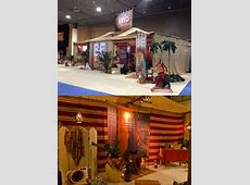 MCS Design and Production props, 3d theme art decor for