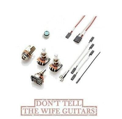 Emg Solderless Conversion Wiring Kit Pjhz Passive