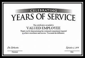 long service certificate template sample - 30 years of high performance for what recognizethis