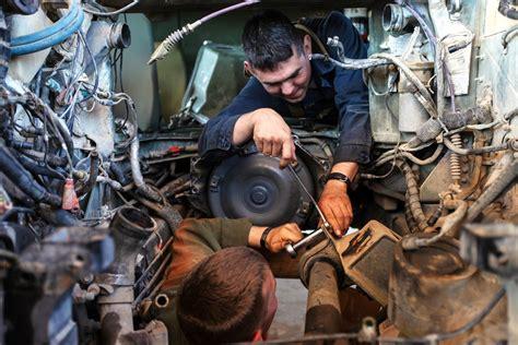 Careers In Diesel Mechanics diesel mechanic are on the rise for veterans