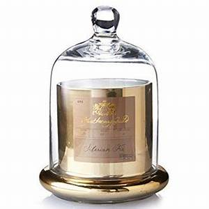 Luxury Copper Jar Scented Candle With Glass Dome - Buy